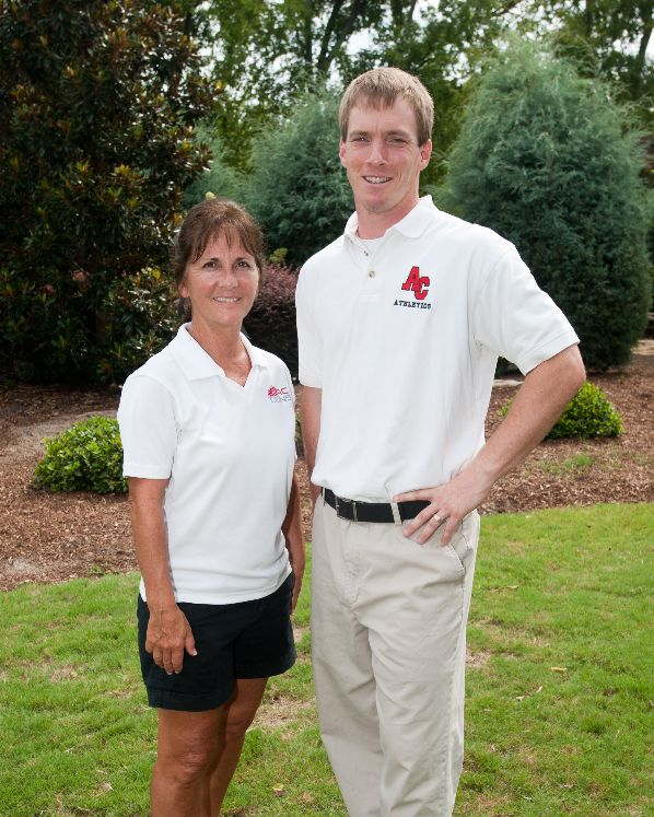 Beth and Joseph | Cross Country Coaching Staff