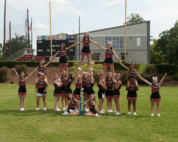 Cheerleaders 2012-13 | Cheerleading