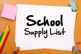 School Supply List Image | Augusta Christian Schools