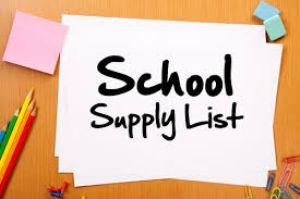 Supply Lists image small | Augusta Christian Schools