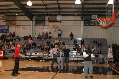 Many tried, but Brian Freeman won the coveted title of Best Alumni Free Throw Shooter! | Augusta Christian Schools