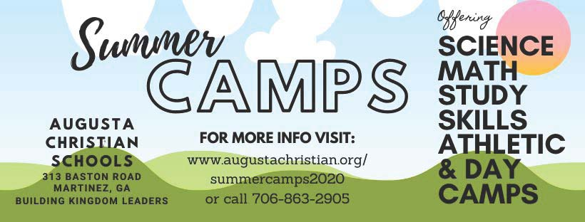 2020 Summer Camps image 2 | Augusta Christian Schools